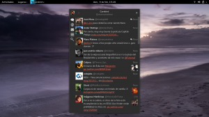 Corebird en GNOME 3