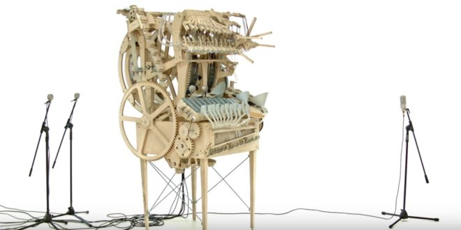 La «marble machine» de Wintergatan